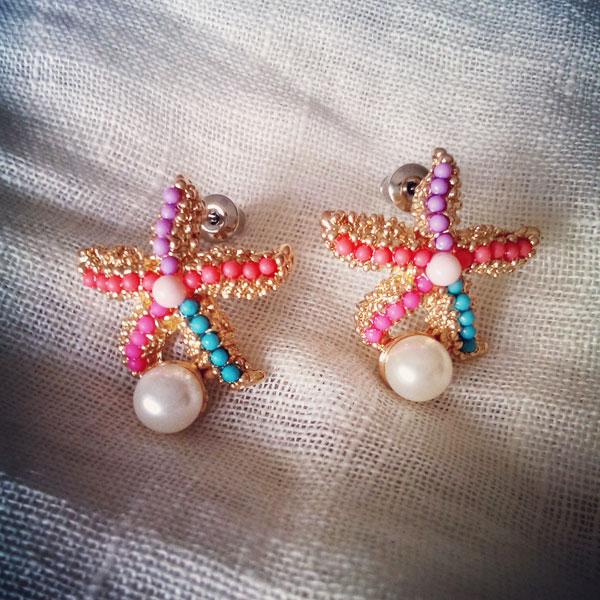 starfish-parl-earing