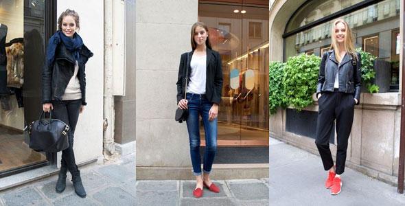 パリ ファッションスナップ